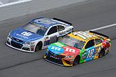 2017 NASCAR Cup - Clash at Daytona<br /> Daytona International Speedway, Daytona Beach, FL USA<br /> Sunday 19 February 2017<br /> Alex Bowman, Kyle Busch, M&M's Toyota Camry<br /> World Copyright: John K Harrelson/LAT Images<br /> <br /> <br /> ref: Digital Image 17DAY1jh_01873