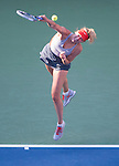 Maria Sharapova (RUS) defeats Alexandra Dulgheru (ROU) 4-6, 6-3, 6-2