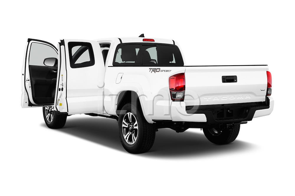 Car images of 2017 Toyota Tacoma TRD Sport 4 Door Pick Up Doors