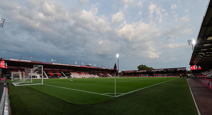 Vitality Stadium - Bournemouth - Ground View<br /> <br /> Photographer David Horton/CameraSport<br /> <br /> Carabao Cup Second Round Southern Section - Bournemouth v Crystal Palace - Tuesday 15th September 2020 - Vitality Stadium - Bournemouth<br />  <br /> World Copyright © 2020 CameraSport. All rights reserved. 43 Linden Ave. Countesthorpe. Leicester. England. LE8 5PG - Tel: +44 (0) 116 277 4147 - admin@camerasport.com - www.camerasport.com