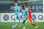 Jiangsu FC Midfielder Ramires Santos (C) in action during the AFC Champions League 2017 Group H match between Jiangsu FC (CHN) vs Adelaide United (AUS) at the Nanjing Olympics Sports Center on 01 March 2017 in Nanjing, China. Photo by Marcio Rodrigo Machado / Power Sport Images