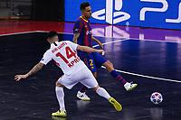 9th October 2020; Palau Blaugrana, Barcelona, Catalonia, Spain; UEFA Futsal Champions League Finals; FC Barcelona versus MFK KPRF;  Aicardo