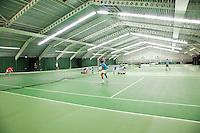 15-3-09, Rotterdam, Nationale Overdekte Jeugdkampioenschappen 12 en 18 jaar, Overzicht hal