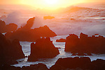 Pacific Grove, CA at sunset
