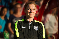 OTTAWA, Canada - Friday June 26, 2015: The United States of America (USA) defeats the People's Republic of China (China PR) 1-0 in the Quarter-finals of the FIFA Women's World Cup Canada 2015 at Lansdowne Stadium.