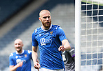 St Johnstone v Hibs…22.05.21  Scottish Cup Final Hampden Park<br />Shaun Rooney celebrates his goal<br />Picture by Graeme Hart.<br />Copyright Perthshire Picture Agency<br />Tel: 01738 623350  Mobile: 07990 594431