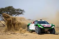 31st December 2020, Jeddah, Saudi Arabian. The vehicle and river shakedown for the 2021 Dakar Rally in Jeddah;   316 Seaidan Yasir sau, Kuzmich Alexey rus, Century, SRT Racing, Auto, action during the shakedown of the Dakar 2021 in Jeddah