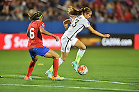 Frisco, TX - February 10, 2016: The USWNT defeated Costa Rica 5-0 during the opening game of the group stage at the CONCACAF Women's Olympic Qualifying Tournament in Toyota Stadium.