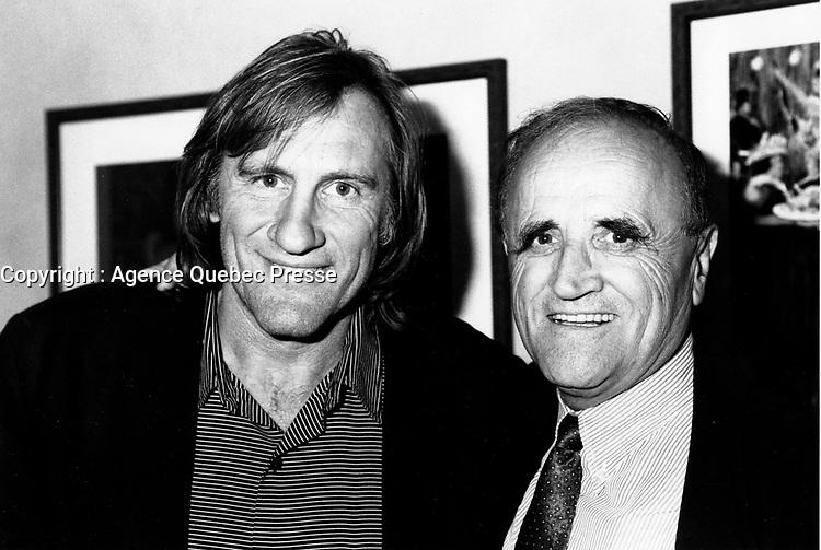 Serge Losique<br />  at Depardieu au FFM 1989