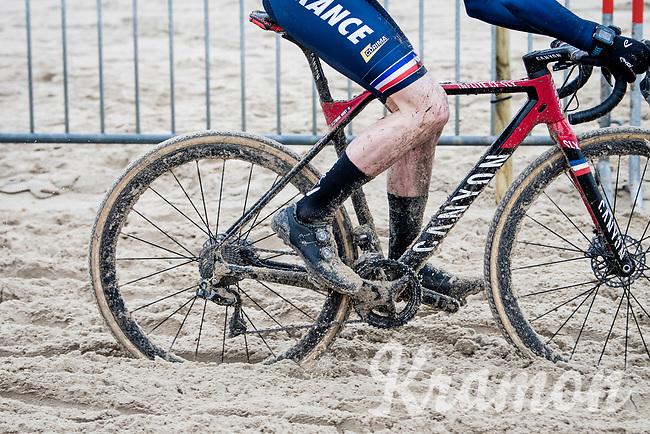 Antoine Huby (FRA)<br /> <br /> UCI 2021 Cyclocross World Championships - Ostend, Belgium<br /> <br /> U23 Men's Race<br /> <br /> ©kramon