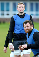 16th February 2021;  Kieran Treadwell during an Ulster Rugby squad pitch session held at Pirrie Park, Belfast, Northern Ireland. Photo by John Dickson/Dicksondigital