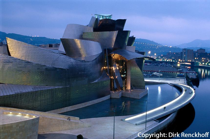 Guggenheimmuseum von Frank O. Gehry in Bilbao, Baskenland (Euskadi), Spanien