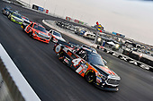 NASCAR Camping World Truck Series<br /> winstaronlinegaming.com 400<br /> Texas Motor Speedway, Ft. Worth, TX USA<br /> Friday 9 June 2017<br /> Christopher Bell, JBL Toyota Tundra and Cody Coughlin, Ride TV/ Jegs Toyota Tundra<br /> World Copyright: Nigel Kinrade<br /> LAT Images<br /> ref: Digital Image 17TEX2nk03321