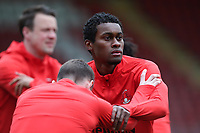 Tunji Akinola of Leyton Orient during Leyton Orient vs Oldham Athletic, Sky Bet EFL League 2 Football at The Breyer Group Stadium on 27th March 2021