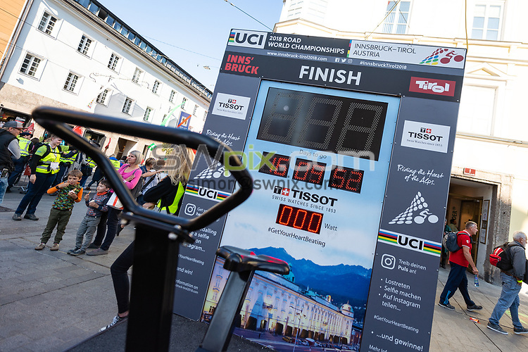 Picture by Richard Blaxall/SWpix.com - 29/09/2018 - Cycling 2018 Road Cycling World Championships Innsbruck-Tirol, Austria - Women's Elite Road Race - Brief, Tissot