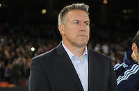 Sporting Kansas City Head Coach Peter Vermes. Sporting Kansas City defeated D.C. United  1-0 at RFK Stadium, Saturday March 10, 2012.