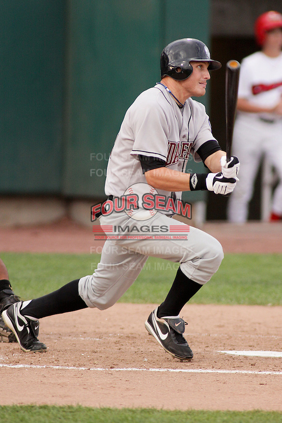 August 5, 2009:  Carlo Testa of the Idaho Falls Chukars, Rookie Class-A affiliate of the Kansas City Royals, during a game at the Orem Owlz Ballpark in Orem, UT. Photo by: Matthew Sauk/Four Seam Images