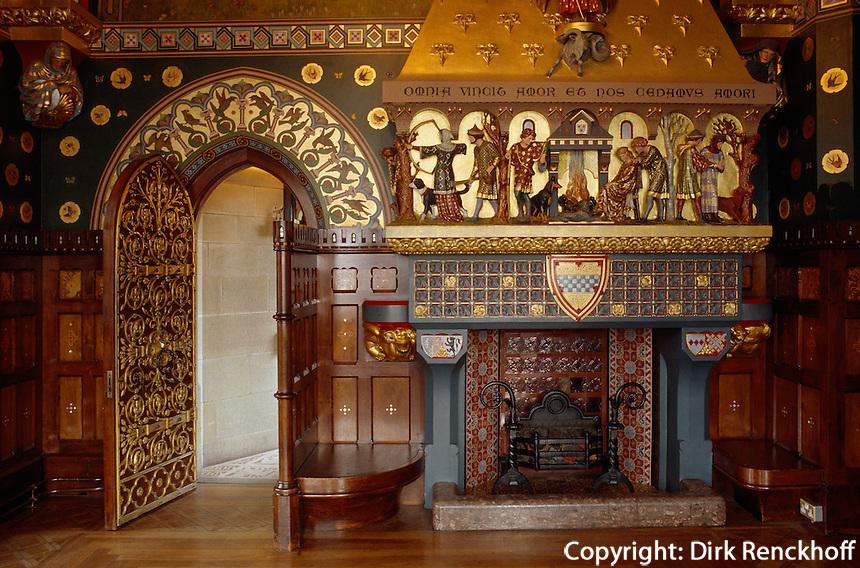 in der Burg von, Cardiff, Wales, Großbritannien
