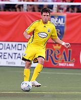 Danny O'Rourke in the 2-0  Real Salt Lake win at Rice Eccles Stadium  in Salt Lake City, Utah on  July 12, 2008.