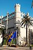 La Lonja in gothic style (1426-1447) by architect Guillermo Sagrera<br /> <br /> La Lonja (cat.: Sa Llotja) de estilo gótico (1426-1447) por el arquitecto Gullermo Sagrera<br /> <br /> Handelsbörse La Lonja im gotischen Stil (1426-1447) von dem Architekten Guillermo Sagrera