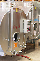 stainless steel vats dom pfister dahlenheim alsace france