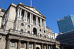 Great Britain, England, London: Bank of England on Threadneedle Street in the City of London | Grossbritannien, England, London: Bank von England in der Threadneedle Street im Finanz Distrikt
