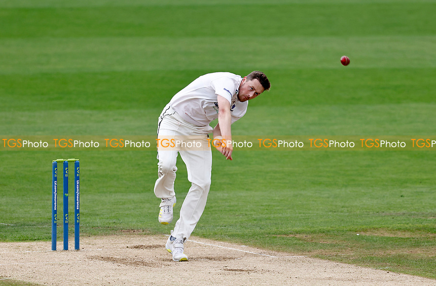 Ollie Robinson bowls for Sussex during Kent CCC vs Sussex CCC, LV Insurance County Championship Group 3 Cricket at The Spitfire Ground on 13th July 2021