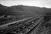 Matewan, West Virginia.USA .January 15, 2005..Coal trains.
