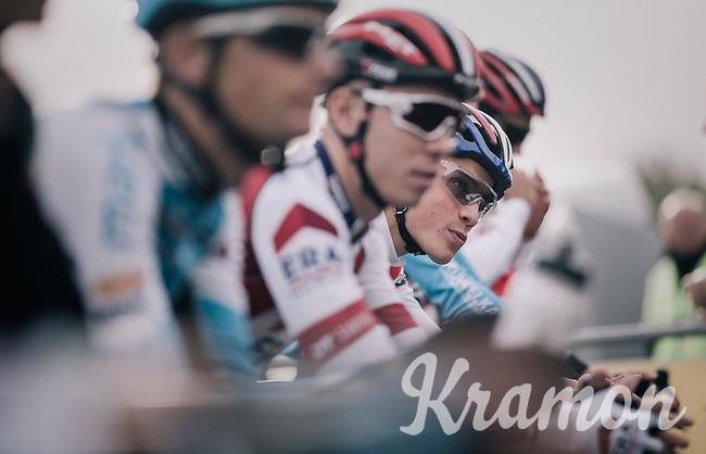 Mathieu van der Poel (NED/Beobank-Corendon) on the start line<br /> <br /> Super Prestige Ruddervoorde / Belgium 2017