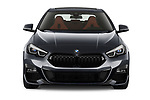 Car photography straight front view of a 2020 BMW 2-Series-Gran-Coupe M-Sport 4 Door Sedan Front View