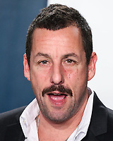 BEVERLY HILLS, LOS ANGELES, CALIFORNIA, USA - FEBRUARY 09: Adam Sandler arrives at the 2020 Vanity Fair Oscar Party held at the Wallis Annenberg Center for the Performing Arts on February 9, 2020 in Beverly Hills, Los Angeles, California, United States. (Photo by Xavier Collin/PictureGroup)