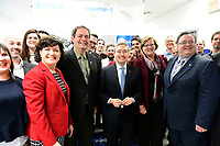 Inauguration chez Novabus en presence du <br /> Ministre de l'Innovation, des Sciences et de l'Industrie, Francois-Philippe Champagne, le  2 Mars 2019.<br /> <br /> Photo : Agence Quebec Presse