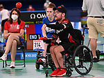 Danik Allard Boccia at the 2020 Paralympic Games in Tokyo, Japan-08/30/2021-Photo Scott Grant