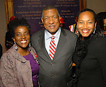 From left: Aburey and Gene Locke with Anita Smith at the Houston Museum of African American Culture held at the Ensemble Theater Thursday Oct. 22,2009. (Dave Rossman/For the Chronicle)