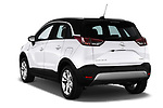 Car pictures of rear three quarter view of a 2018 Opel Crossland X Innovation 5 Door SUV angular rear