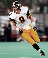 Mark Waterman HamiltonTiger Cats 1991. Copyright photograph Scott Grant