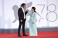 Damiano D'Innocenzo attending the America Latina Premiere as part of the 78th Venice International Film Festival in Venice, Italy on September 09, 2021. <br /> CAP/MPI/IS/PAC<br /> ©PAP/IS/MPI/Capital Pictures