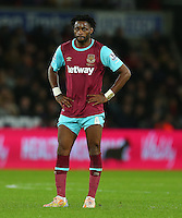 Alex Song of West Ham United during the Barclays Premier League match between Swansea City and West Ham United played at The Liberty Stadium, Swansea on 20th December 2015