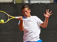 08-08-13, Netherlands, Rotterdam,  TV Victoria, Tennis, NJK 2013, National Junior Tennis Championships 2013, Alexander Popping<br /> <br /> <br /> Photo: Henk Koster