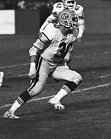 Dale Potter Edmonton Eskimos 1983. Photo copyright Scott Grant.