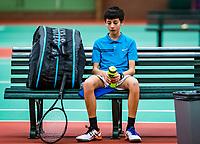 Wateringen, The Netherlands, November 27 2019, De Rhijenhof , NOJK 12 and16 years, Hidde van der Vliet (NED)<br /> Photo: www.tennisimages.com/Henk Koster