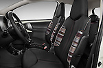 Front seat view of a 2009 - 2012 Citroen C1 Airplay 3-Door Hatchback.