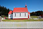Waitetoko Church, Mission Bay, Lake Taupo, New Zealand
