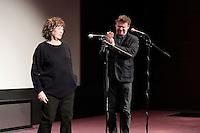 Jane BIRKIN - Frederic BONNAUD - Ouverture de la retrospective Jane Birkin - La Cinematheque francaise 25 janvier 2017 - Paris - France