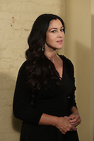 Monica Bellucci  photo call before the Montreal premiere of Guy Edoin latest film <br />  VILLE_MARIE at Imperial Cinema, Wenesday September 30, 2015.<br /> <br /> PHOTO : Pierre Roussel - Agence Quebec presse