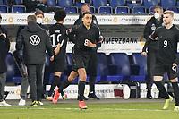 Jamal Musiala (Deutschland Germany) wird eingewechselt - 25.03.2021: WM-Qualifikationsspiel Deutschland gegen Island, Schauinsland Arena Duisburg