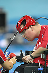 action at the Paralympic Games in Beijing, Sunday, Sept., 7, 2008.<br /> Photo by Mike Ridewood