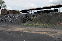 ZAMBIA, Sinazese, chinese owned Collum Coal Mine, underground mining of hard coal for copper melter and cement factory /SAMBIA, Collum Coal Mine eines chinesischem Unternehmens, Untertageabbau von Steinkohle