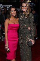"""HOLLYWOOD, CA - MARCH 06: Inbar Lavi, Shantel VanSanten at the Los Angeles Premiere Of DreamWorks Pictures' """"Need For Speed"""" held at TCL Chinese Theatre on March 6, 2014 in Hollywood, California. (Photo by Xavier Collin/Celebrity Monitor)"""