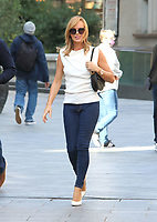 Amanda Holden at the Global Radio Studios, Leicester Square, London on 9th September 2020<br /> CAP/ROS<br /> ©ROS/Capital Pictures